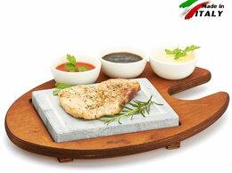 Сковороды и сотейники - Каменная сковорода Bisetti 99050 камень для…, 0