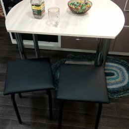 Столы и столики - Стол Обеденный Круглый Прямоугольный, 0