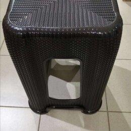 Стулья, табуретки - Табурет стул плетёный пластиковый , 0