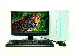 Настольные компьютеры - Для работы и учёбы AMD Ryzen 3+DDR4 16Gb+Монитор , 0