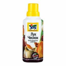 Лук-севок, семенной картофель, чеснок - Лигногумат JOY Лук, чеснок ДМ-NPК 6% 0,5 л, 0