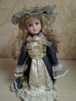 Куклы и пупсы - Кукла фарфоровая, 0