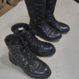 Ботинки - Демисезонная фирменная обувь на девочку, р 36, 0