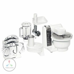 Кухонные комбайны и измельчители - Кухонный комбайн Bosch MUM4855, 0