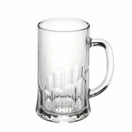 Кружки, блюдца и пары - Кружка 500 мл, для пива, ПИТ, 8 шт/уп, ОСЗ, 0