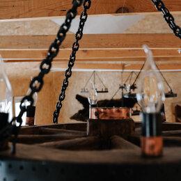 Люстры и потолочные светильники - Колесо телеги.  Люстра , 0