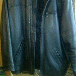 Куртки - Продам мужскую кожаную куртку, 0
