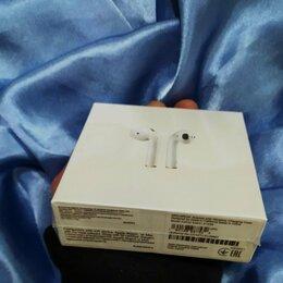 Наушники и Bluetooth-гарнитуры - Наушники Apple AirPods 2 (беспроводная зарядка)…, 0
