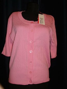 Блузки и кофточки - Блузка Woolstreet розовая размер 52 , 0