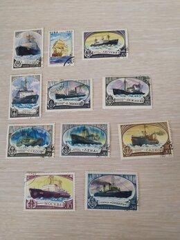 Марки - Советские марки и альбом., 0