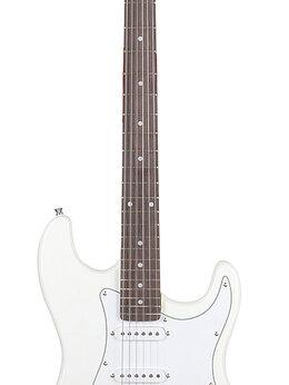 Электрогитары и бас-гитары - Fabio ST100 WH Электрогитара, 6 струн, S/S/S,…, 0