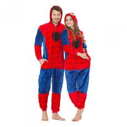 Домашняя одежда - Новая. Пижама кигуруми Человек Паук размеры S-XL, 0