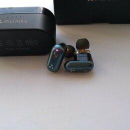 Наушники и Bluetooth-гарнитуры - Беспроводные наушники Syllable s101 Aptx, 0