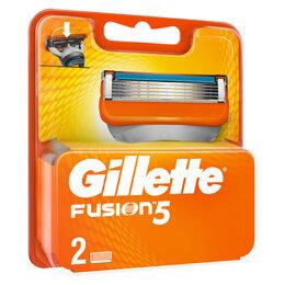 Средства для бритья - Кассеты для бритья сменные Gillette Fusion, 2шт., 0