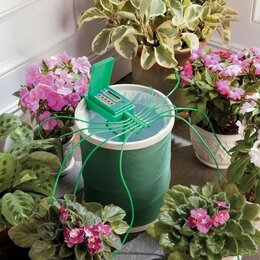 Капельный полив - Поливалка лейка автоматическая Green Helper GA 010 домашних цветов, 0