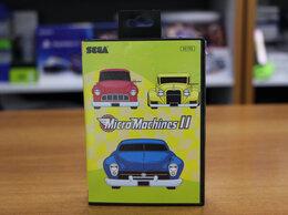 Игры для приставок и ПК - Картридж Sega Micro Machines 2, 0