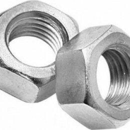 Шайбы и гайки - Гайка шестигранная М6 DIN934 шестигранная оцинкованная, 0