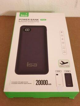 Зарядные устройства и адаптеры - Внешний аккумулятор 20000 mAh P163 ISA, 0