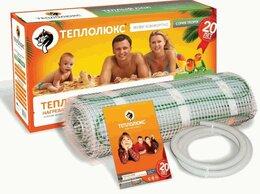 Электрический теплый пол и терморегуляторы - Эл. Теплый пол World Heat Premium LTS-C 6/900, 0