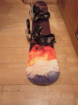 Сноуборды -  сноуборд комплект 163см, 0