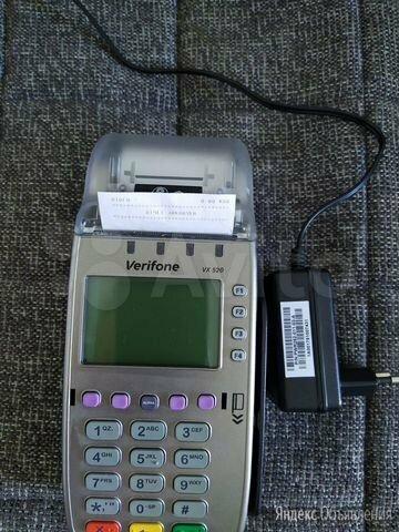 Платежный терминал Vx520 VeriFone по цене 7000₽ - Контрольно-кассовая техника, фото 0
