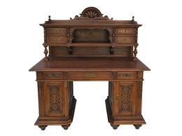 Компьютерные и письменные столы - Пристенный письменный стол с…, 0