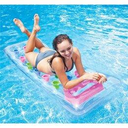 Аксессуары для плавания - Надувной матрас для плавания 188х71 см с окном,…, 0