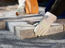 Рабочий - Укладчик тротуарной плитки, 0