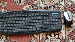 Комплекты клавиатур и мышей - Клавиатура Microsoft и мышь, 0