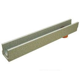 Комплектующие водоснабжения - Лоток водоотводный BetoMax Basic бетонный 1000х140х130мм, 0