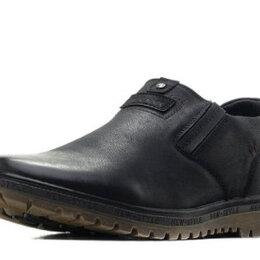 Ботинки - Мужские полуботинки утеплённые 42 размер (большемерят), 0
