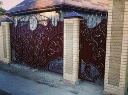 Заборы и ворота - Кованые заборы, ворота под заказ, 0