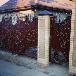 Заборы, ворота и элементы - Кованые заборы, ворота под заказ, 0