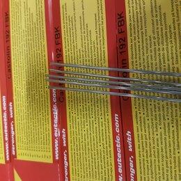 Электроды, проволока, прутки - Припой для алюминия Castolin 192 fbk (5 прутков), 0
