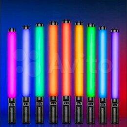 Осветительное оборудование - Кольцевая лампа RGB Light Stick 48см (новый), 0