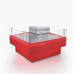 Холодильные витрины - Холодильная витрина Айсберг Айс Куб-УОн90в…, 0