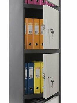 Шкафы для документов - Бухгалтерский шкаф SL 185/4, 0