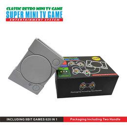 Игровые приставки - Игровая мини приставка Super mini tv game 620 игр, 0