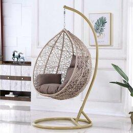 Плетеная мебель - Подвесное кресло AFM-169A-LB Beige, 0