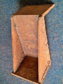 Уголки, кронштейны, держатели - Крепление - опора для бруса подвесное, для…, 0