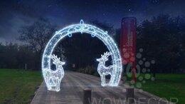 Новогодний декор и аксессуары - Светодиодная Арка 400 см (цвет на выбор), 0