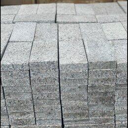 Тротуарная плитка, бордюр - Брусчатка гранитная, 0