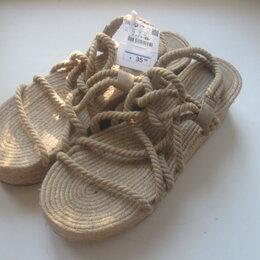 Сандалии - НОВЫЕ сандалии на платформе Pull & Bear. р.40, 0