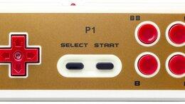 Игровые приставки - Геймпад беспроводной Retro Genesis Controller P1…, 0