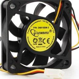 """Кулеры и системы охлаждения - Вентилятор  (60*25мм-12V) 3 pin фишка   """"Gembird """", 0"""