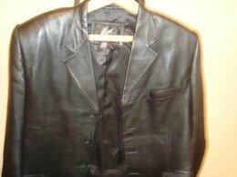 Пиджаки - продам  мужской  пиджак  натуральная  кожа …, 0