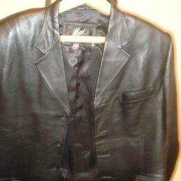Пиджаки - продам  мужской  пиджак  натуральная  кожа  фирма  Мах, 0