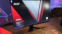 """Мониторы - Игровой Acer Nitro 24"""" 75Гц, IPS, 1мс, FreeSync, 0"""