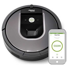 Роботы-пылесосы - Робот-пылесос iRobot Roomba 960, 0
