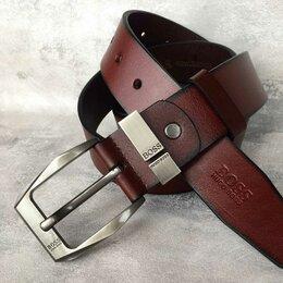 Ремни и пояса - Ремень Hugo Boss коньчного цвета , 0